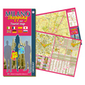 Milano Shopping and Tourist map